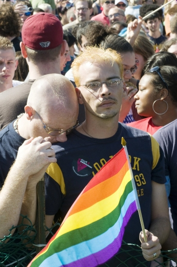Photo Coverage: The National Equality March and Rally in Washington, D.C.