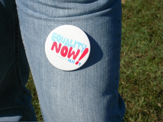 Photo Flash: HAIR at the National Equality March in Washington, D.C.