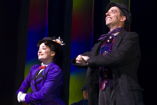 Photo Coverage: Laura Michelle Kelly and Christian Borle Join Broadway's MARY POPPINS!