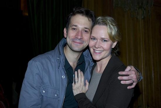 Jeff Binder and Rebecca Luker