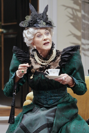 Linda Thorson at THE IMPORTANCE OF BEING EARNEST