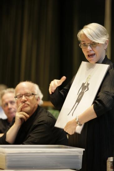 Jack Murphy, Gregory Boyd and Susan Hilferty Photo