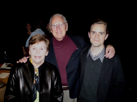 Bob and Mary Jenkins with David Jenkins