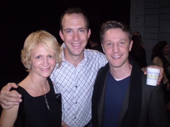 Gina Nagy Burns, Christopher Burns and Daniel Harray Photo