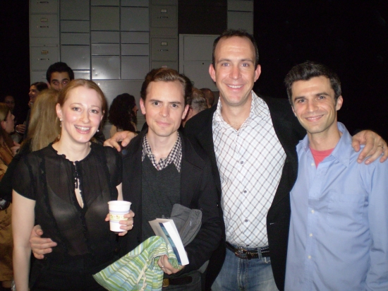 Josie Whittlesey, David Jenkins, Christopher Burns and Michael Crane