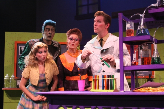 Photo Flash: HALLOWEEN HIGH SCHOOL 2 at Downtown Cabaret