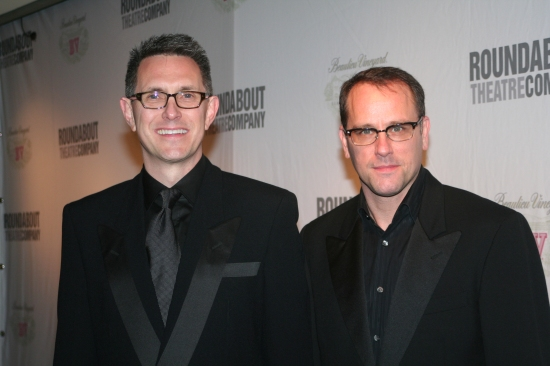 Director and Choreographer Bobby Longbottom and Tom Kossis