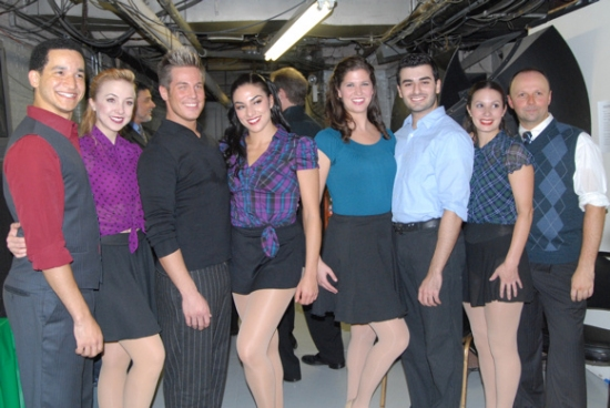 The Entire Ensemble of The David Merrick Dancers-Richard Riaz Yoder, Daryl Getman, Kristofer Stock, Nikki Chalas, Kaia Marguerite, Warren Curtis, Lisa Marchillo, Jeff Lagace