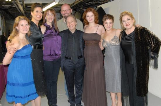 Celia Keenan-Bolger, Stephanie J. Block, Julia Murney, Scott Coulter, Scott Siegel, Kerry O'Malley, Daisy Egan and Sharon McNight