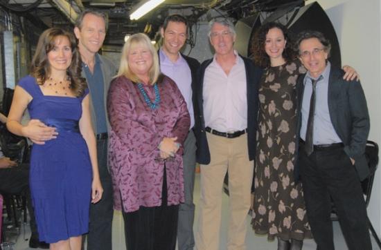The Cast of Falsettos-Janet Metz, Stephen Bogardus, Heather MacRae, Jonathan Kaplan, Michael Rupert, Barbara Walsh, Chip Zien