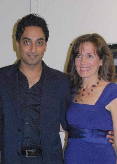 Manu Narayan and Janet Metz