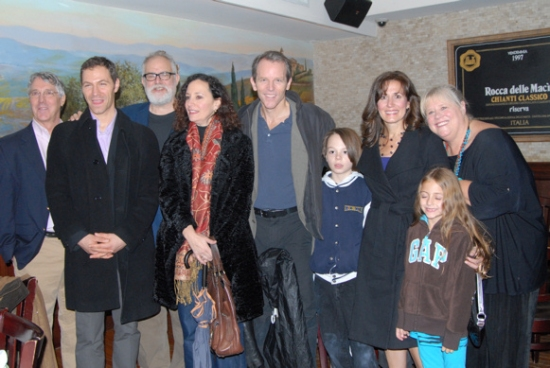 Falsettos-Michael Rupert, Jonathan Kaplan, William Finn, Barbara Walsh, Stephen Borgardus, Janet Metz, Heather MacRae