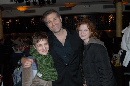 Daisy Egan, Marc Kudisch, Kerry O'Malley