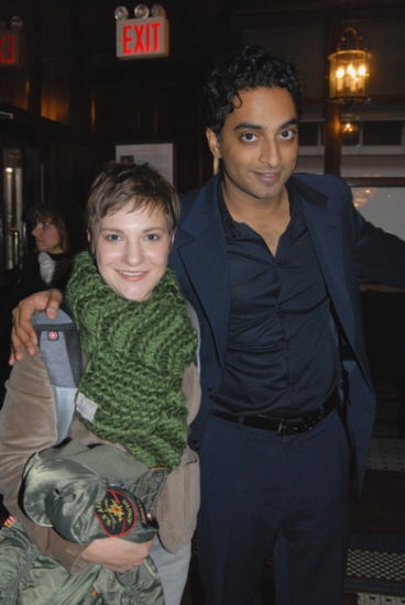 Daisy Egan and Manu Narayan