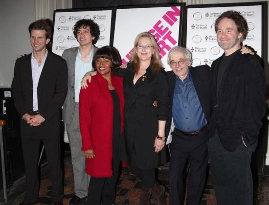 Frederick Weller, Geoffrey Arend, Jenifer Lewis, Meryl Streep, Austin Pendleton and K Photo