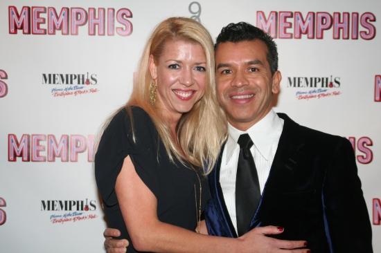 Associate Director Kelly Devine and Choreographer Sergio Trujillo