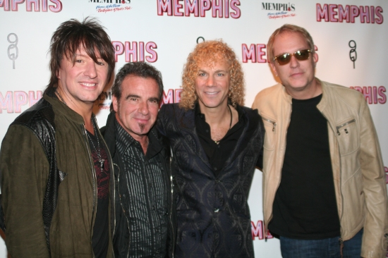 Richie Sambora, Tico Torres, David Byran and Hugh McDonald