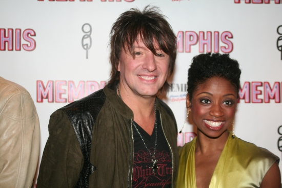 Richie Sambora and Montego Glover
