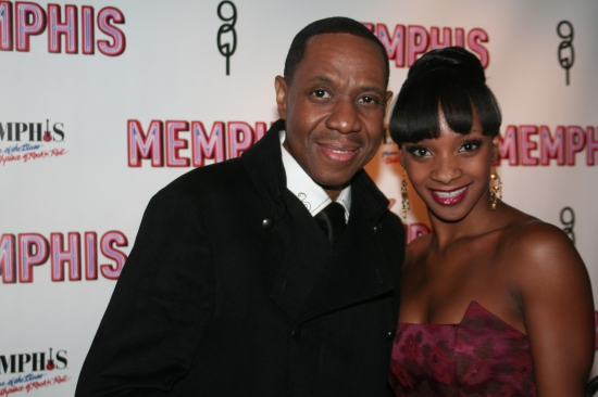 Freddie Jackson and Candice Monet McCall