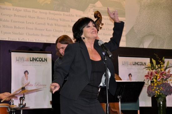 Photo Flash: Release of CHITA RIVERA AND NOW I SWING