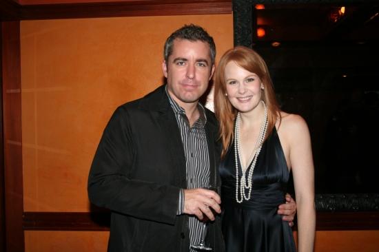 Jason Jones and Kate Baldwin