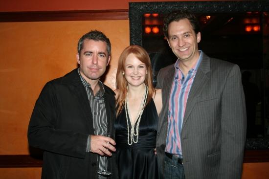 Jason Jones, Kate Baldwin and Graham Rowat