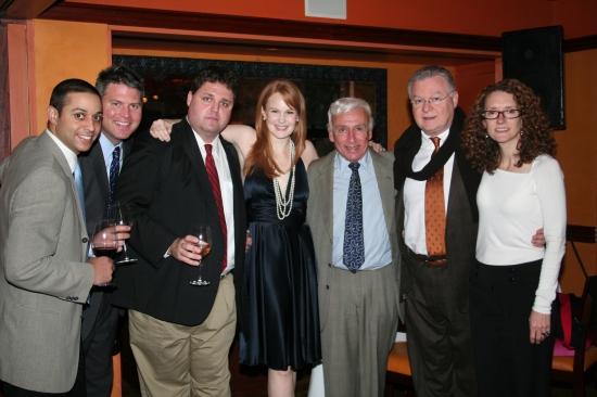 Greg Cortese, Scott Metzer, Tim Sage, Kate Baldwin, Clifford Stevens, Richard Schmenner and Sarah Fargo