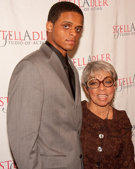 Jemal Dee and Ruby Dee Photo