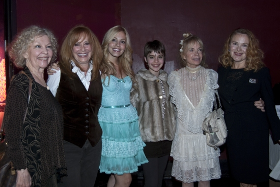 The Junes of GYPSY:Merle Louise, Jacqueline Mayro (1959), Leigh Ann Larkin, Sami Gayle (2008), Lane Bradbury (1959), Maureen Moore (1974)