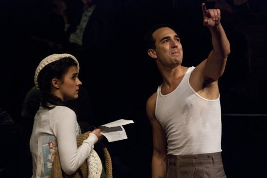 Kirstin Tucker and Noah Aberlin  at Abingdon Theatre Company's MARATHON '33 Benefit Celebration