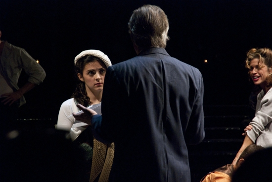 Kirstin Tucker, Peter Brouwer and Rachelle Rak  at Abingdon Theatre Company's MARATHON '33 Benefit Celebration