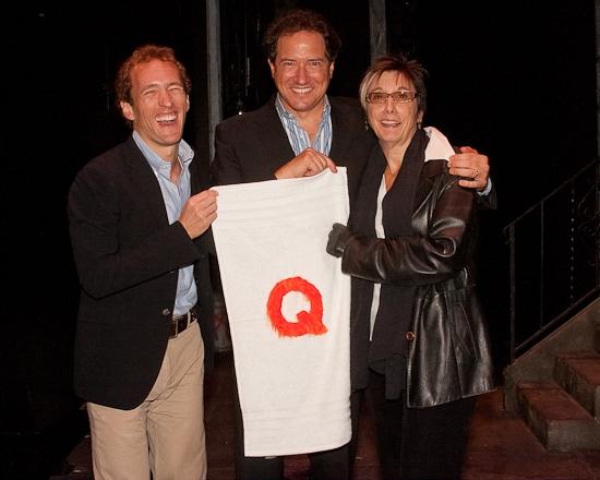 Jeffrey Seller, Kevin McCollum and Robyn Goodman