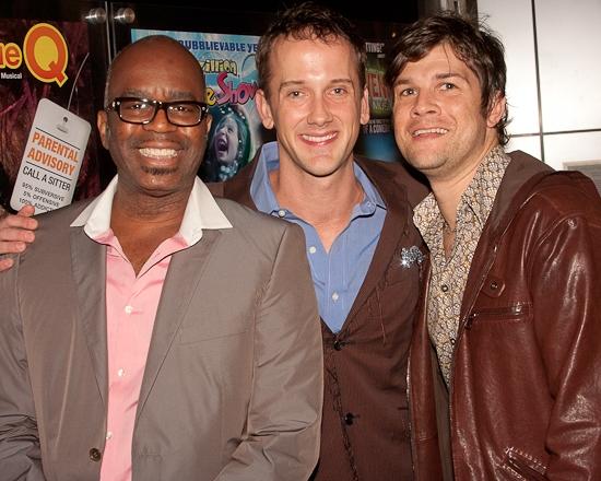 Ken Roberson, Jeff Whitty and Stephen Oremus