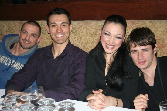 Robin Windsor, Damon and Rebecca Sugden and Jeremy Garner Photo