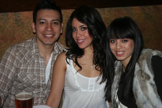 Ricky Rojas, Rebecca Tapia and Sarah Hivs