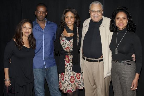 Debbie Allen (Director), Adrian Lester (Brick), Sanaa Lathan (Maggie), James Earl Jones (Big Daddy) and Phylicia Rashad (Big Mama)