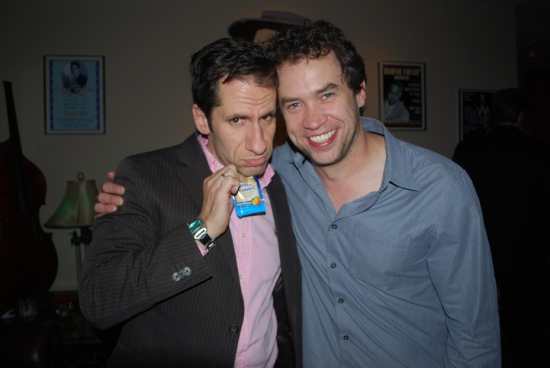 Seth Rudetsky, James Wesley at 2009 'BROADWAY WISHES' Benefit Concert After-Party