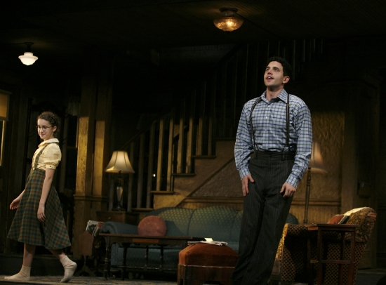 Gracie Bea Lawrence and Santino Fontana