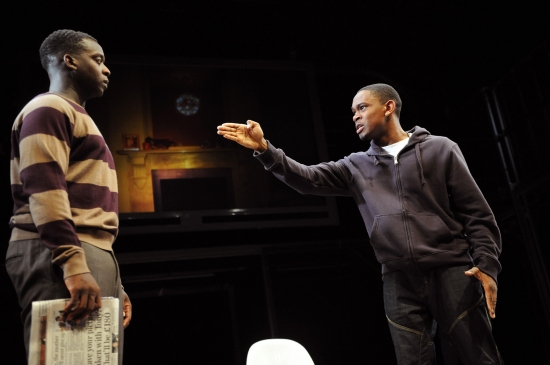 Kobna Holdbrook-Smith and Aml Ameen