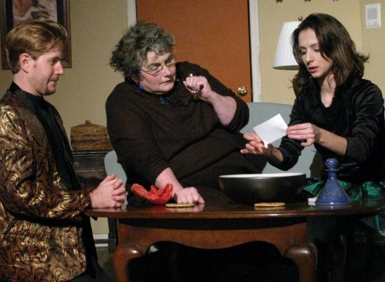 Patrick Albanesius, Cheryl Doyle and Allison DeKorte