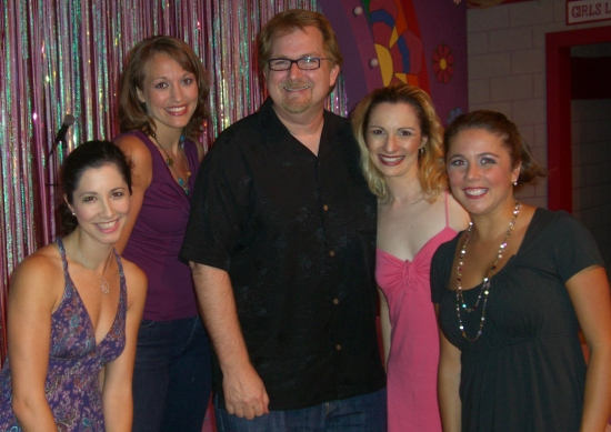 Photo Flash: Show Writers Make An Appearance At Miracle Theater's THE MARVELOUS WONDERETTES
