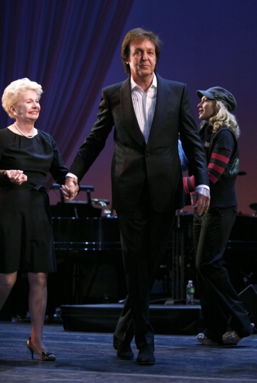 Jo Sullivan Loesser and Paul McCartney Photo