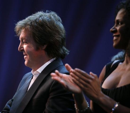 Paul McCartney and Audra McDonald