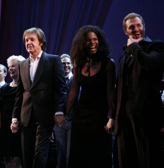 Paul McCartney & Audra McDonald and Marc Kudisch