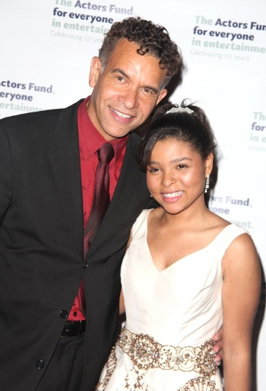 Brian Stokes Mitchell and Brynn Williams