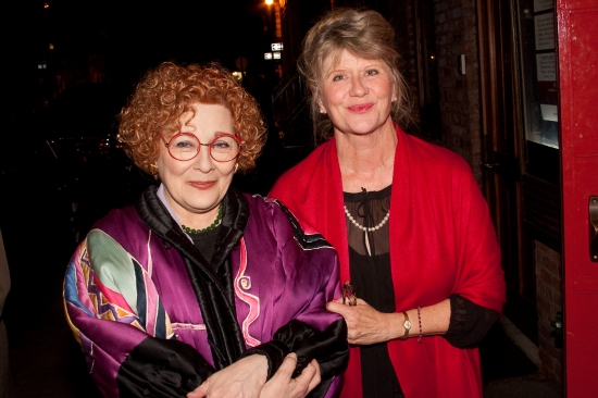 Photo Flash: Opening Party for the LADY WITH ALL THE ANSWERS At The Cherry Lane Theatre
