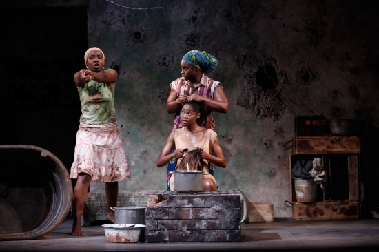 Adepero Oduye, Stacey Sargeant, and Pascale Armand
