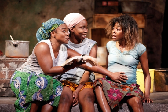 Stacey Sargeant, Adepero Oduye, and Pascale Armand Photo