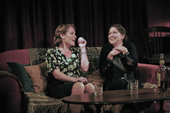 Zoe Waites and Nicola Walker