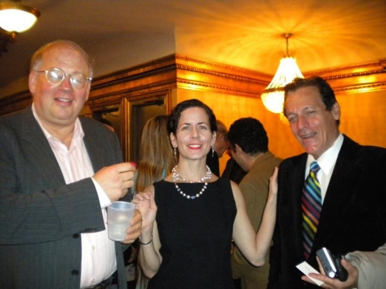Glenn Young, Lisa Ferber and Ward Morehouse